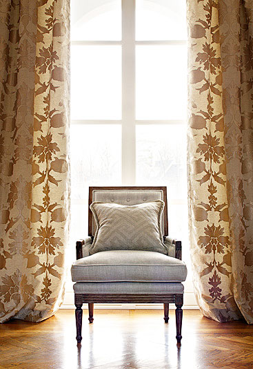 Schumacher Custom Drapery at DrapeStyle