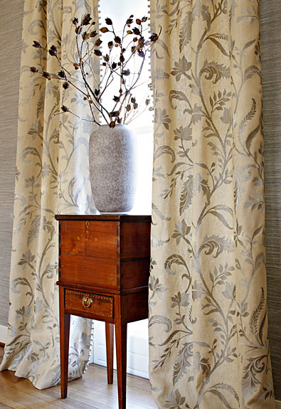 Custom Drapery in Schumacher® Fabrics